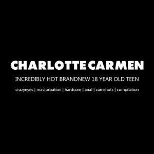 Charlotte laat haar kont vol spuiten