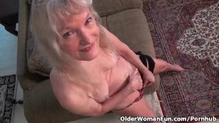 Ze wou zelf deze oma sexfilm maken